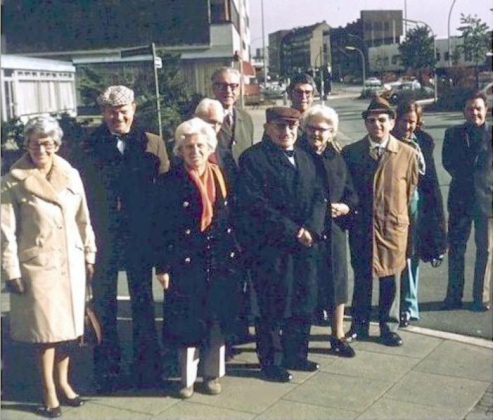 Фото с конференции Гамбургской школы астрологии 1979 года.